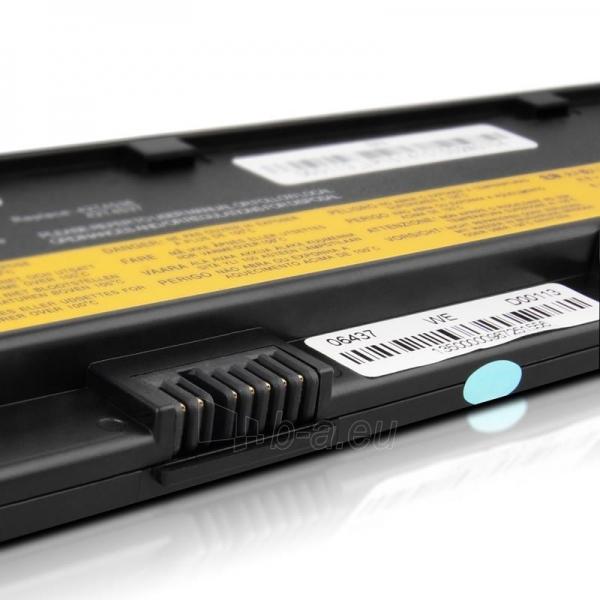 Nešiojamo kompiuterio baterija Whitenergy Lenovo ThinkPad X200 10.8V 4400mAh Paveikslėlis 8 iš 8 250254100679