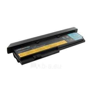 Nešiojamo kompiuterio baterija Whitenergy Lenovo ThinkPad X200 10.8V 6600mAh Paveikslėlis 1 iš 3 250254100680