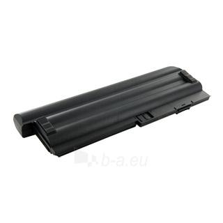 Nešiojamo kompiuterio baterija Whitenergy Lenovo ThinkPad X200 10.8V 6600mAh Paveikslėlis 2 iš 3 250254100680