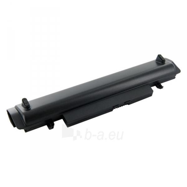 Nešiojamo kompiuterio baterija Whitenergy Samsung N148 11.1V 4400mAh juoda Paveikslėlis 2 iš 3 250254100542