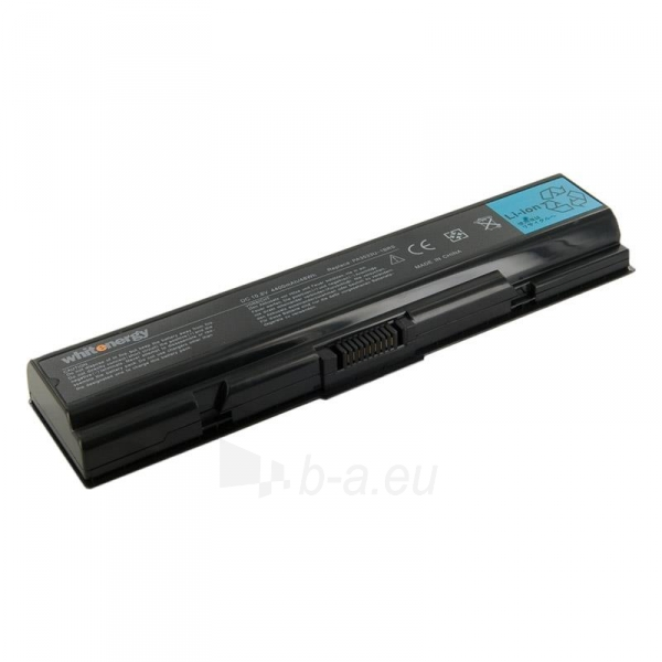 Nešiojamo kompiuterio baterija Whitenergy Toshiba PA3533 / PA3534 10.8V 4400mAh Paveikslėlis 1 iš 6 250254100559