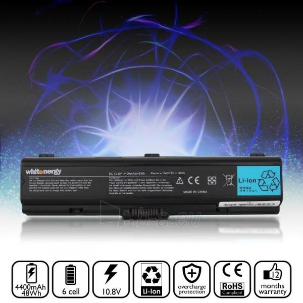 Nešiojamo kompiuterio baterija Whitenergy Toshiba PA3533 / PA3534 10.8V 4400mAh Paveikslėlis 6 iš 6 250254100559