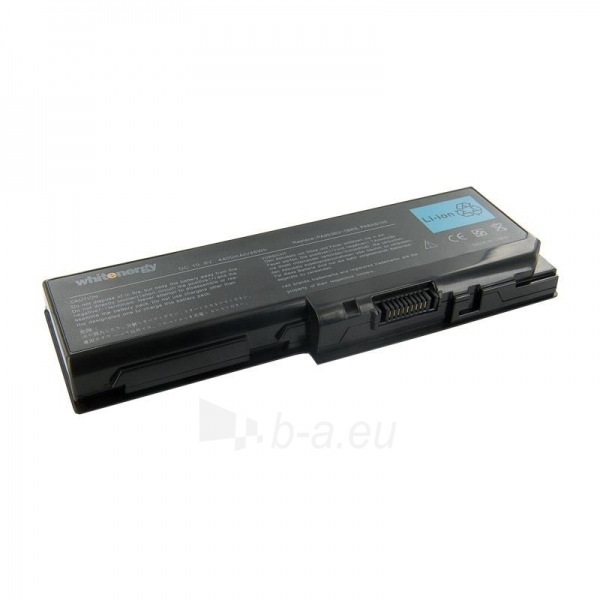Nešiojamo kompiuterio baterija Whitenergy Toshiba PA3536 10.8V 4400mAh Paveikslėlis 1 iš 3 250254100561