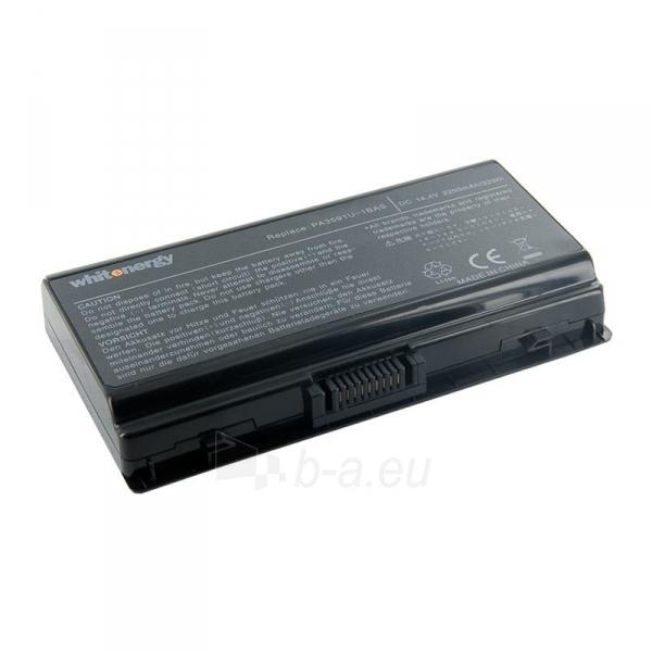 Nešiojamo kompiuterio baterija Whitenergy Toshiba PA3591 14.8V 2200mAh Paveikslėlis 1 iš 3 310820005309