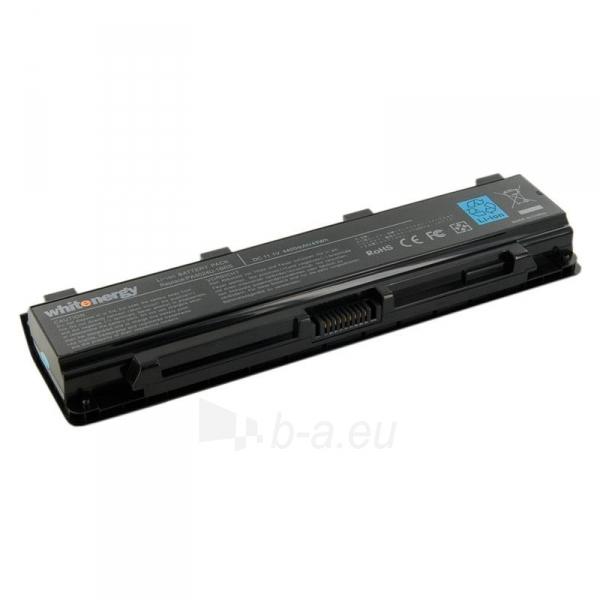Nešiojamo kompiuterio baterija Whitenergy Toshiba PA5024U-1BRS 11.1V 4400mAh Paveikslėlis 1 iš 2 310820005385