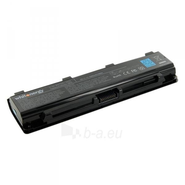 Nešiojamo kompiuterio baterija Whitenergy Toshiba PA5024U-1BRS 11,1V 5200mAh Paveikslėlis 1 iš 6 310820005322