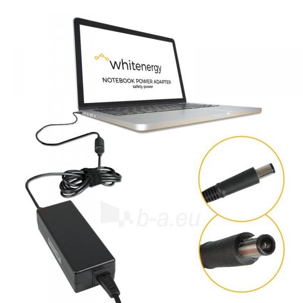 Nešiojamo kompiuterio pakrovėjas Whitenergy 18.5V/4.9A 90W, 7.4x5.0mm pin HP Paveikslėlis 3 iš 5 250256400980