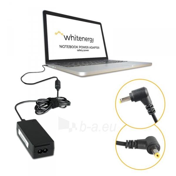 Nešiojamo kompiuterio pakrovėjas Whitenergy 19V/1.58A 30W, 4.0x1.7mm Paveikslėlis 3 iš 5 250256400983