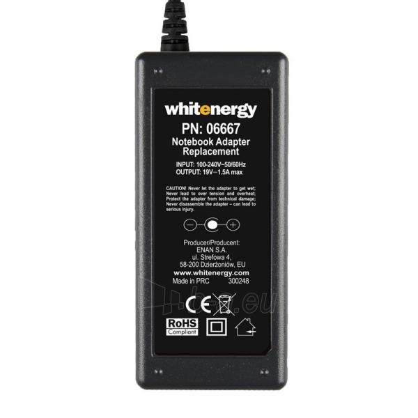 Nešiojamo kompiuterio pakrovėjas Whitenergy 19V/1.58A 30W, 4.0x1.7mm Paveikslėlis 4 iš 5 250256400983