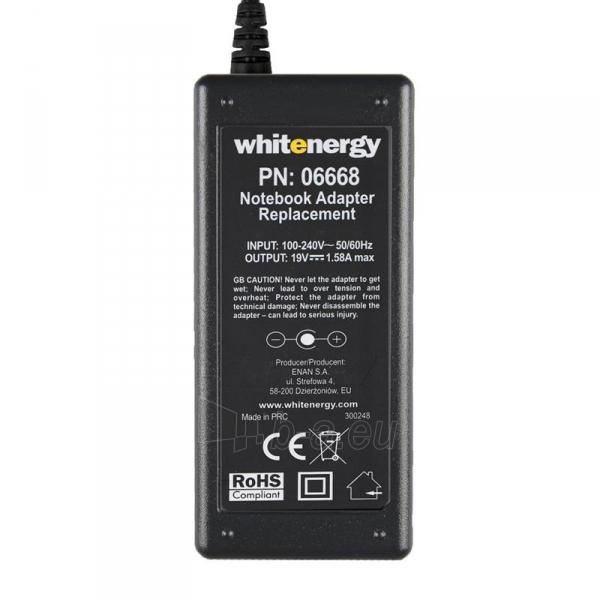 Nešiojamo kompiuterio pakrovėjas Whitenergy 19V/1.58A 30W, 5.5x1.7mm Paveikslėlis 4 iš 5 250256400984