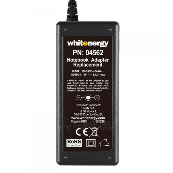 Nešiojamo kompiuterio pakrovėjas Whitenergy 19V/3.42A 65W, 5.5x1.7mm Acer Paveikslėlis 4 iš 5 250256401199