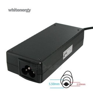 Nešiojamo kompiuterio pakrovėjas Whitenergy 19V/3.95A 75W, 5.5x2.5mm Paveikslėlis 1 iš 5 250256400989