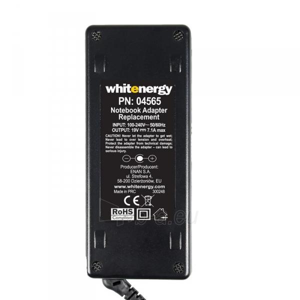 Nešiojamo kompiuterio pakrovėjas Whitenergy 19V/7.1A 135W, 5.5x2.5mm Paveikslėlis 3 iš 5 250256400995