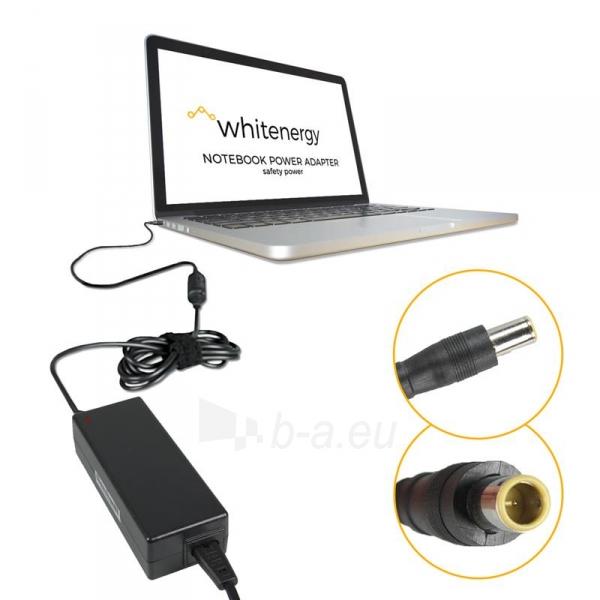 Nešiojamo kompiuterio pakrovėjas Whitenergy 20V/4.5A 90W, 7.9x5.5mm pin IBM Paveikslėlis 3 iš 5 250256401005