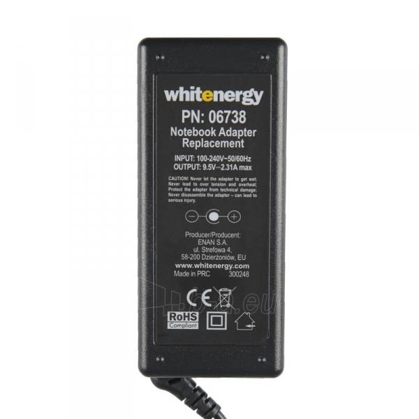 Nešiojamo kompiuterio pakrovėjas Whitenergy Asus EEE PC 701 9.5V, 2.31A, 4.8x1.7 Paveikslėlis 4 iš 5 250256401008