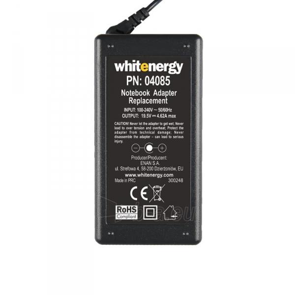 Nešiojamo kompiuterio pakrovėjas Whitenergy Dell 19.5V, 4.62A, 90W, 7.4x5.0 Paveikslėlis 4 iš 5 250256401201