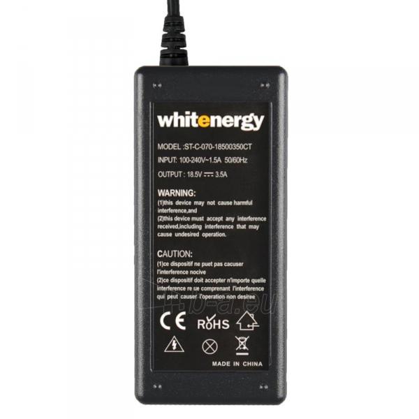 Nešiojamo kompiuterio pakrovėjas Whitenergy HP/Compaq 18.5V, 3.5A, 65W, 4.8x1.7 Paveikslėlis 4 iš 5 250256401023