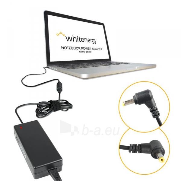 Nešiojamo kompiuterio pakrovėjas Whitenergy Multi 19V, 3.16A, 60W, 5.5x2.1 Paveikslėlis 4 iš 5 250256401035