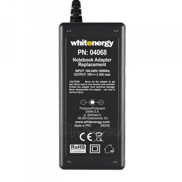 Nešiojamo kompiuterio pakrovėjas Whitenergy Multi 19V, 3.16A, 60W, 5.5x2.1 Paveikslėlis 5 iš 5 250256401035