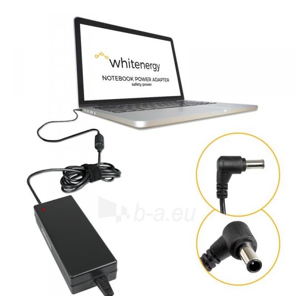Nešiojamo kompiuterio pakrovėjas Whitenergy Sony 19.5V, 5.13A, 100W, 6.5 x 4.4 Paveikslėlis 3 iš 5 250256401308
