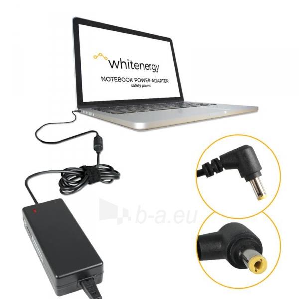 Nešiojamo kompiuterio pakrovėjas Whitenergy Toshiba/Fujitsu 19V, 4.74A, 90W Paveikslėlis 4 iš 5 250256401055