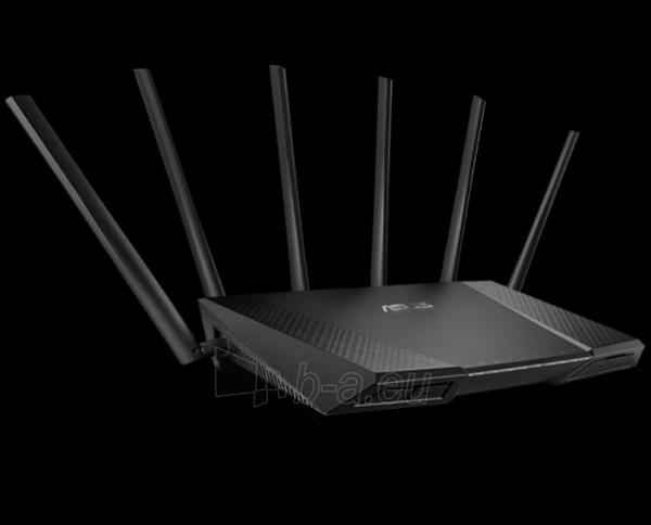 Netgear AC3200 Nighthawk X6 SMART WiFi Router 802.11ac Tri-Band Gigabit (R8000) Paveikslėlis 1 iš 1 250257200731