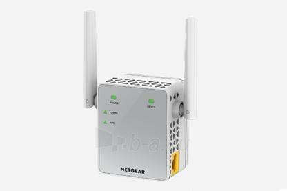 Netgear AC750 WiFi Range Extender - 802.11n/ac, 1PT, Wall-plug Ext. Ant (EX3700) Paveikslėlis 4 iš 5 310820009130