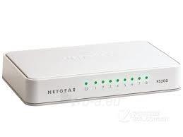 Netgear FS208 8-Port Fast Ethernet Unmanaged Switch Paveikslėlis 1 iš 1 250257501199