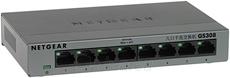 Netgear GS308 8-Port Gigabit Switch Metal Paveikslėlis 1 iš 1 250257501202