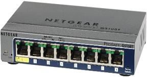 Netgear Prosafe 8-port Gigabit Smart Switch (GS108Tv2) Paveikslėlis 1 iš 1 250257501211