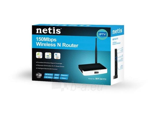 Netis Router DSL WIFI G/N150  LAN x4, Antena 5 dBi Paveikslėlis 5 iš 6 250257200737