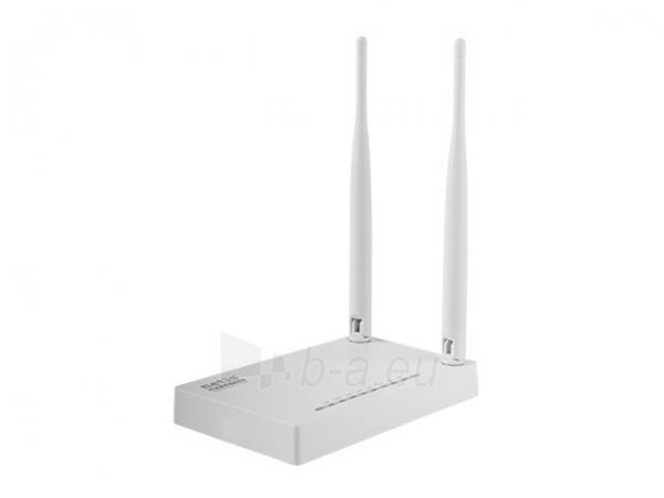 Netis Router DSL WIFI G/N300  LAN x4, 2x Antena 5 dBi Paveikslėlis 2 iš 4 250257200761