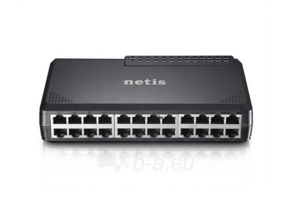 Netis Switch Desktop 24-port 100MB Paveikslėlis 4 iš 4 250257501216