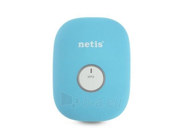 Netis WIFI Repeater 300Mbps  RJ-45, blue Paveikslėlis 2 iš 4 250257100624