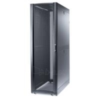 NetShelter SX 48U/600mm/1200mm Enclosure with Roof and Sides Black Paveikslėlis 1 iš 4 250257600352