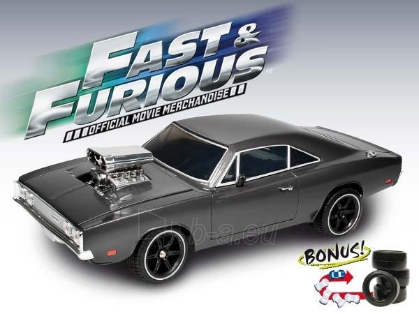 NIKKO 160313 DODGE CHARGER Exclusive Fast & Furious automobilis su nuotolinio valdymo pulteliu Paveikslėlis 1 iš 1 30007100044