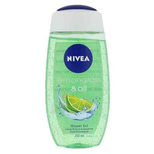 Nivea Lemongrass & Oil Shower Gel Cosmetic 250ml Paveikslėlis 1 iš 1 2508950001107