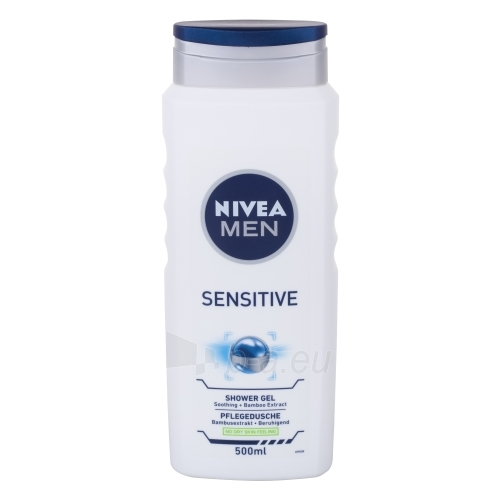 Nivea Men Sensitive Shower Gel Cosmetic 500ml Paveikslėlis 1 iš 1 2508950001153