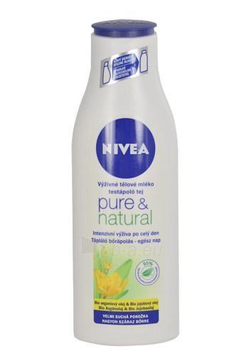 Nivea Pure & Natural Body Milk Cosmetic 250ml Paveikslėlis 1 iš 1 250850201212
