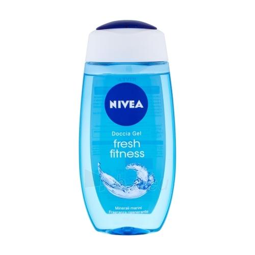 Nivea Pure Fresh Shower Gel Cosmetic 250ml Paveikslėlis 1 iš 1 2508950001109
