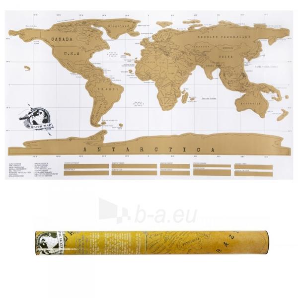 Nutrinamas pasaulio žemėlapis Paveikslėlis 5 iš 5 310820221287