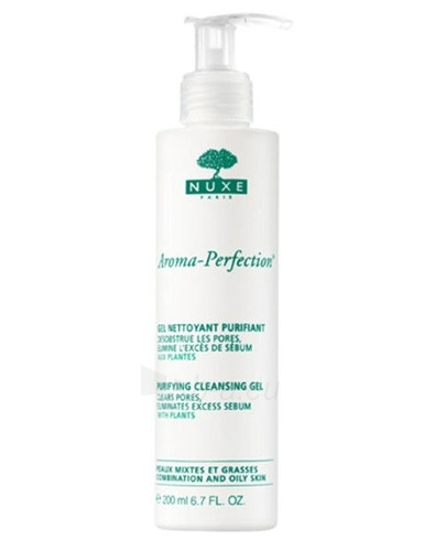 Nuxe Aroma-Perfection Purifying Cleansing Gel Cosmetic 200ml Paveikslėlis 1 iš 1 250840700951