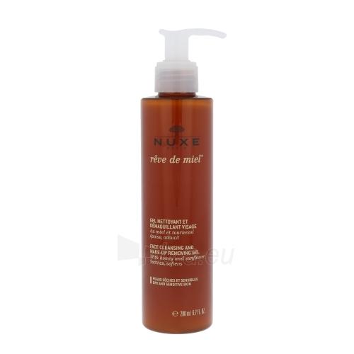 Nuxe Reve de Miel Face Cleansing Gel Cosmetic 200ml Paveikslėlis 1 iš 1 250840700956