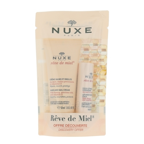 Nuxe Reve de Miel Hand And Nail Cream Cosmetic 34ml Paveikslėlis 1 iš 1 250850400180