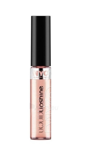NYC New York Color Liquid Lipshine Cosmetic 7,2ml (Midtown Mocha) Paveikslėlis 1 iš 1 2508721000391