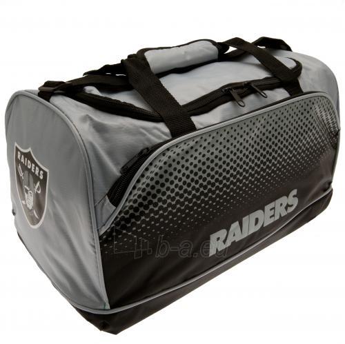 Oakland Raiders kelioninis krepšys Paveikslėlis 2 iš 2 310820126746