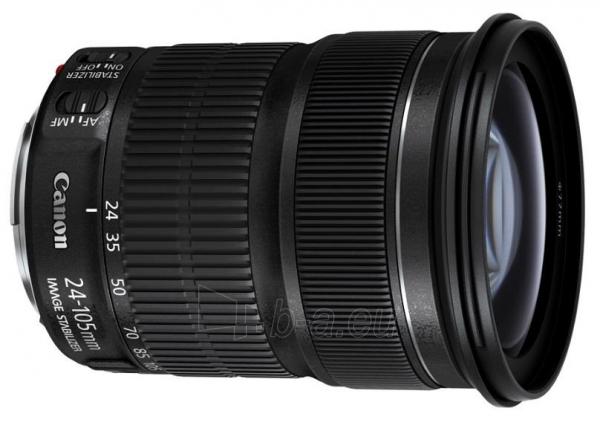 Obiektyvas Canon EF 24-105mm 1:3.5-5.6 IS STM Paveikslėlis 1 iš 1 310820013570