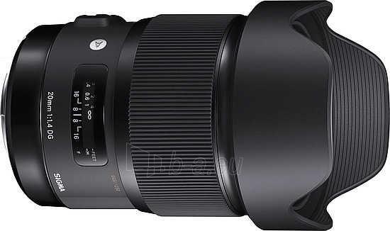Sigma 20mm F1.4 DG HSM for Nikon [Art] Paveikslėlis 1 iš 1 310820004340