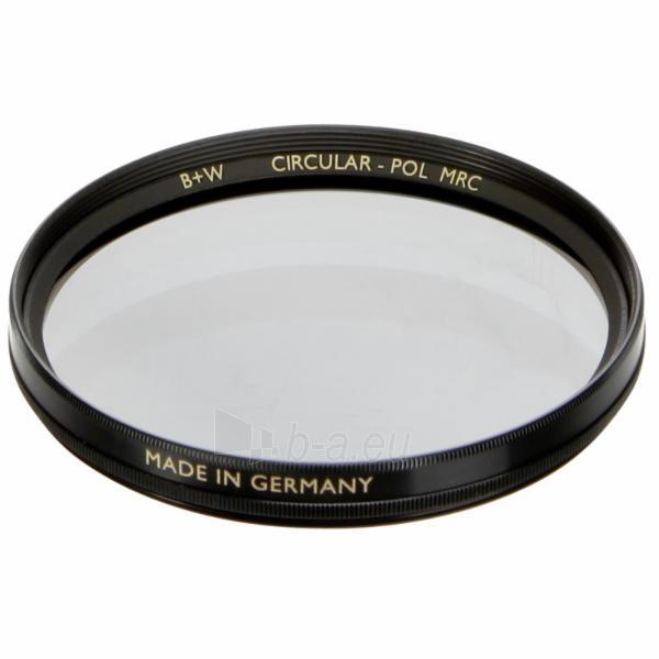 Objektyvo filtras B+W F-Pro S03 Pol circular MRC 77 Paveikslėlis 1 iš 1 250222040974