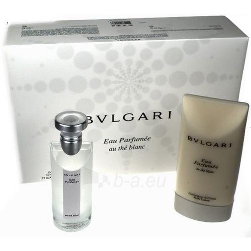 Odekolonas Bvlgari Eau Parfumée au Thé Blanc cologne 75ml (rinkinys 4) Paveikslėlis 1 iš 1 250812000960